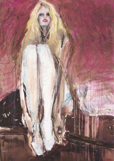 "Artist Olga Gorokhova ""Brigitte Bardot"" oil painting on canvas. French Actress, Brigitte Bardot, Oil Painting On Canvas, Moscow, Contemporary Art, Art Gallery, Instagram Posts, Artist, Rose"