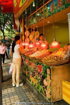 Nuts seller - Chongqing, China