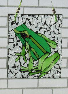 Mosaic Glass Frog