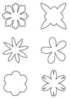 Flower shapes