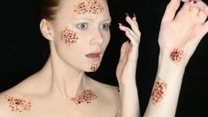 Fear of Holes Makeup Tutorial   Special FX Series