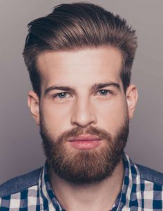 Best 30 Hairstyles for Men with Beards 2019 - Long Bob Hairstyles 2019 Undercut Curly Hair, Loose Curly Hair, Quiff Hairstyles, Long Bob Hairstyles, Men's Hairstyle, Bald Head With Beard, Volume Haircut, Afro, Traditional Hairstyle