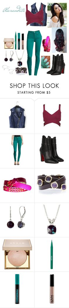 """The Real Alexandrite"" by keih95 ❤ liked on Polyvore featuring Paul Smith, Christian Louboutin, Matthew Williamson, Alchemy Jewelry, Stila, Urban Decay, NYX and Sterling Essentials"