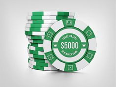 Casino Chips Mock Up