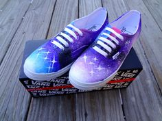 Galaxy Vans Shoes!!!! Ah I really want/need these too