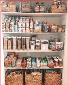 Kitchen Organization Pantry, Home Organisation, Organized Pantry, Organization Ideas For The Home, Pantry Ideas, Organizing Ideas For Kitchen, Refrigerator Organization, Kitchen Pantry Design, Organize Food Pantry