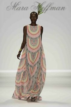 floor-length mara hoffman dress