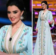 Mayssa maghrebi the moroccan  beauty in a perfect caftan
