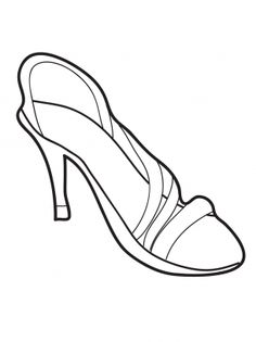 Heel Coloring Sheet