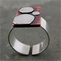 Geometric ring... Pretty cool
