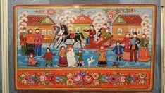 городец по новгородски(работы в традиции)
