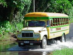 My Regular Bus , Samoa.
