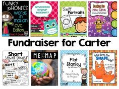 FUNDRAISER 100% TO FAMILY! Carter Strong Bundle 1 K-2 Purchase this bundle at a HUGE discount and help a fellow teacher in need. You can read the story about her son, Carter below the description. Over $300 worth of products for just $25! If you'd like to help out even more, you can check out the other bundles.