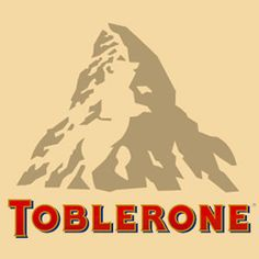 There is a bear if you look closely at image of Matterhorn. Toblerone chocolate bars originated in Berne, Switzerland whose symbol is the bear.