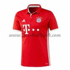 Bundesliga Fussball Trikots Bayern Munich 2016-17 Heimtrikot Kurzarm