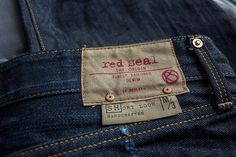 Red Seal selvedge denim Handcrafted by Replay Raw Denim, Denim Jeans, Denim Shirts, Clothing Apps, Azul Indigo, Denim Fashion, Curvy Fashion, Street Fashion, Fall Fashion