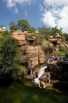 Mountain Sanctuary Park, Magaliesberg | Go Southern Africa Beaches In The World, Places Around The World, Around The Worlds, All About Africa, Out Of Africa, South African Holidays, North West Province, South Afrika, Hiking Spots