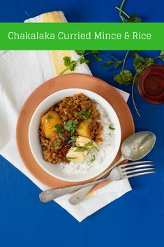 South Africa's favourite curry mince gets a chakalaka spin. Hearty and delicious winter cooking.