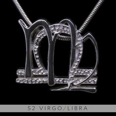 The Virgo/Libra Unity Pendant is a beautiful and meaningful way to share and express the love between a Virgo and a Libra . Unity Pendants are cast in Bronze with a thick Sterling Finish and come with a SIlver finished necklace. Also presented in a truly unique two metal (pure silver and antique...
