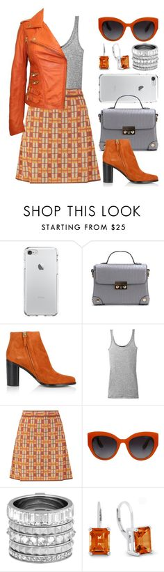 """""""Style it and Orange! (outfit only) 2363"""" by boxthoughts ❤ liked on Polyvore featuring Chloé, Vince, M Missoni, Dolce&Gabbana and Henri Bendel"""