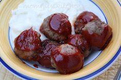 The Pioneer Woman's BBQ Meatballs