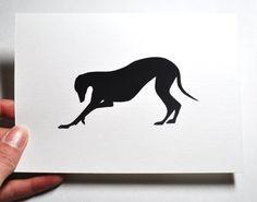 Greyhound - Longdog - bow.
