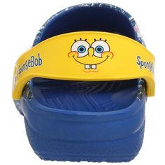♪ ♬ Who lives in a pineapple under the sea?  SPONGEBOB SQAUREPANTS! ♪ ♬  Jellyfishing pint shoes for kiddies. The cutest Crocs ever! I found them on Amazon :)