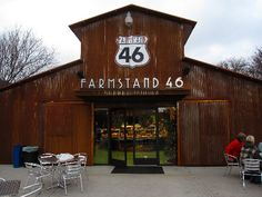 Farmstand 46 - exceptional food, plus it is connected to one of my favorite wineries...Cypher!