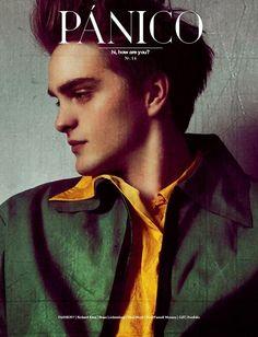 Robert Laby en portada de Pánico Magazine No. 14