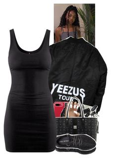 """""""Untitled #2358"""" by txoni ❤ liked on Polyvore featuring Michael Kors, MCM, adidas and H&M"""