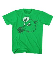 Shamrock Baylor Sailor Bear T-shirt // Because what's Saint Patrick's Day without a little green? #SicEm