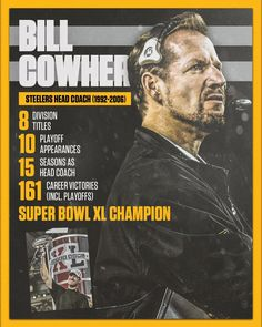 Bill Cowher is a finalist for enshrinement in the Pro Football Hall Fame of as part of a special Centennial Class of 2020 Pittsburgh Steelers Pictures, Pittsburgh Steelers Wallpaper, Pittsburgh Steelers Football, Pittsburgh Sports, Dallas Cowboys, Super Bowl Xl, Wilson Sport, Nfl Championships, Giants Baseball