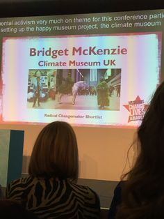 One of three. Winner was Victoria Rogers, Cardiff Change Maker, Cardiff, Conference, Victoria, Museum, Pop, Popular, Pop Music, Museums
