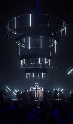 To live out a life of worship beyond songs & music Stage Lighting Design, Stage Set Design, Set Design Theatre, Church Stage Design, Cool Lighting, Bühnen Design, Event Design, Creative Design, Design Ideas