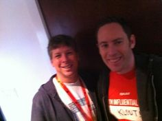 Influencers influencing influencers at the #KloutKrib @dannysullivan @JoeFernandez --@foxycar