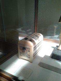 #40. Calcite box of Tutankhamun. Ancient Egypt art