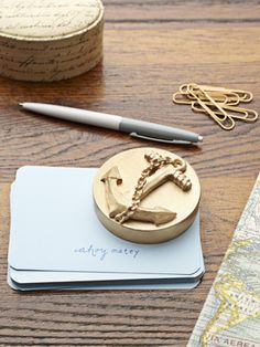 How to make a paperweight. Ahoy! #crafts #diy