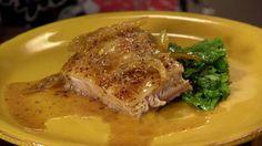 Crispy Mustard Braised Pork Belly Recipe : Anne Burrell : Food Network