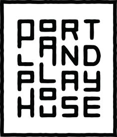 """This logo, although at first is hard to read, works nicely for several reasons. First, the varying placement and heights of the letters somewhat looks like a playground and thus playfulness. Yet, it being hard to read and B&W (versus colorful) tells the viewer that this in fact isn't an ACTUAL playhouse, but instead an adult """"play house"""". I looked it up and it's a theater. Not sure I like this for a theater...I think it would work nicer for hip/trendy bar w/a fun atmosphere (maybe games?)"""