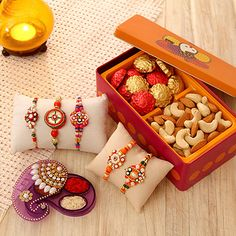 Colorful set of 5 Rakhis in stone and beads work for your brothers. A special Me… – GIFT IDEAS Handmade Chocolates, Chocolates Online, Rakhi Pic, Diwali Photography, Photography Poses, Happy Raksha Bandhan Wishes, Diwali Gift Hampers, Handmade Rakhi Designs, Raksha Bandhan Gifts
