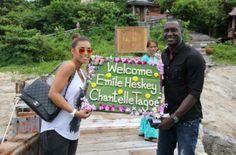 Want to know where Newlyweds Emile Heskey and Chantelle Tagoe honeymooned?