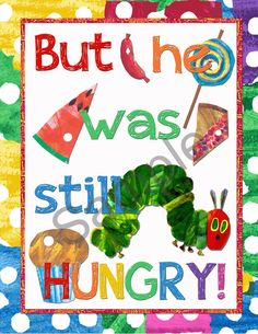 Very Hungry Caterpillar Party Decor Pack by mememommydesigns on Etsy