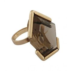 Vintage Jewelry - Vintage 14k gold and Topaz Ring | Just One Eye