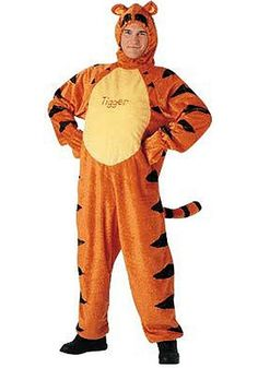 You'll love getting into character as Tigger this Halloween and joining your group of Disney friends! This is a fun online rental costume that will get you in touch with your inner child.