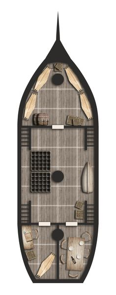 Coasthopper: Main Deck by Araknophobia on DeviantArt
