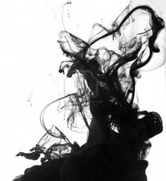 I love ink in water... so cool to look at