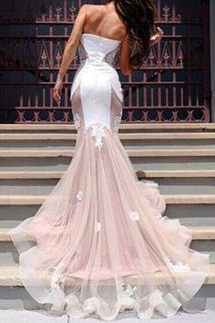 Spliced Appliques Embellished Women's Dress