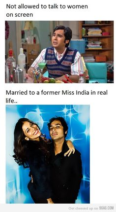 O_O.....how??? Oh yeah... Hes freakin RAJ! The Big Bang Theory Fans Site