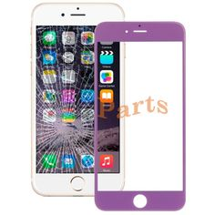 Apple iPhone 6 Plus Front Screen Outer Glass  Lens(Purple) http://www.laimarket.com/apple-iphone-6-plus-front-screen-outer-glass-lenspurple-p-3134.html