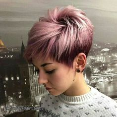2020 short hair trends New Haircut For Short Hair straight hairstyles vary in look, appearing in forms as diverse because the faces they frame. For this style especially , hair is straightened with a lift at the roots Pixie Haircut For Thick Hair, Haircuts For Fine Hair, Short Pixie Haircuts, New Haircuts, Pixie Hairstyles, Straight Hairstyles, Haircut Short, Undercut Short Hair, Hairstyles Videos